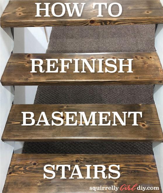Refinishing My Basement Stairway: Part 1