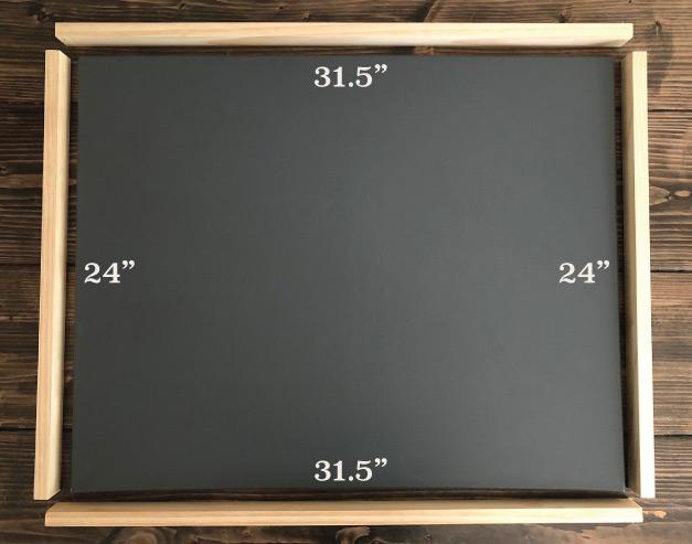 Simple DIY Canvas Wood Frames – Squirrelly Girl DIY
